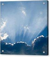 Heavenly Rays Acrylic Print