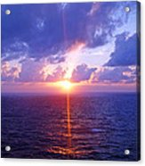 Heavenly Sunset Acrylic Print