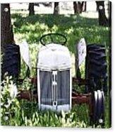 Heavenly Tractor Acrylic Print