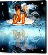 Heavenly Whitney - A Tribute Acrylic Print