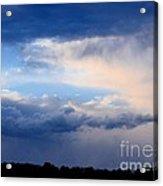 Heavenly Winter Blues Acrylic Print