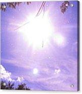Heavens Blue  Acrylic Print