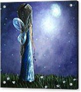 Heaven's Little Helper By Shawna Erback Acrylic Print