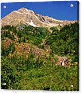 Heavens Peak Glacier International Peace Park Acrylic Print