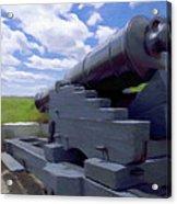 Heavy Artillery Acrylic Print