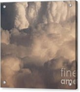 Heavy Clouds Acrylic Print
