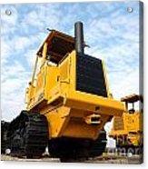 Heavy Construction Equipment Acrylic Print
