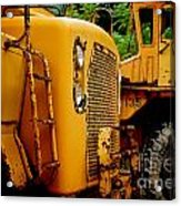 Heavy Equipment Acrylic Print by Amy Cicconi