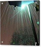 Heavy Evening Snow Acrylic Print