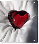 Heavy Heart Acrylic Print