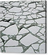 Heavy Pack Ice Terre Adelie Land Acrylic Print