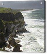 Heavy Surf On The Irish Coast Acrylic Print