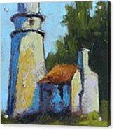 Heceta Head Light - Oregon Landscape Acrylic Print