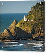 Heceta Head Lighthouse - Sunny Acrylic Print