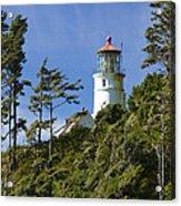 Heceta Head Lighthouse 1 B Acrylic Print