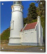 Heceta Head Lighthouse 1 C Acrylic Print