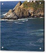 Heceta Head Lighthouse 2 D Acrylic Print