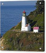 Heceta Head Lighthouse 2 G Acrylic Print