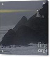 Heceta Head Lighthouse Oregon Coast Acrylic Print