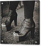 Heels Acrylic Print
