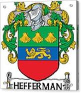 Hefferman Coat Of Arms Irish Acrylic Print