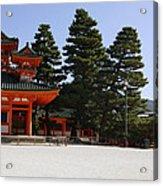 Heian Temple Square I Acrylic Print