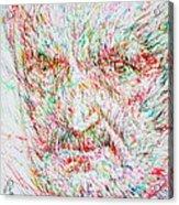 Heidegger Acrylic Print