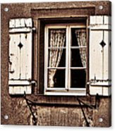 Heidelberg Window Acrylic Print