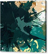 Heightened Energy Acrylic Print by Lourry Legarde