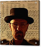 Heisenberg Acrylic Print