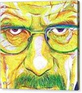 Heisenberg Acrylic Print by Kyle Willis