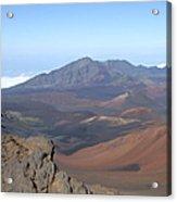 Heleakala Volcano In Maui Acrylic Print
