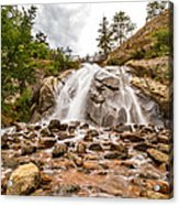 Helen Hunt Falls Visitor Center Acrylic Print