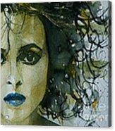 Helena Bonham Carter Acrylic Print