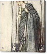 Helena, Illustration From Midsummer Acrylic Print