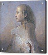 Helene In Profile  Acrylic Print
