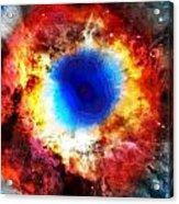 Helix Nebula Acrylic Print by Dan Sproul