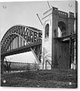 Hell Gate Bridge Acrylic Print