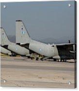 Hellenic Air Force C-27j Spartan Acrylic Print