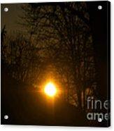 Hello Springtime Sunrise Acrylic Print