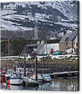 Helmsdale Harbour - Sutherland Acrylic Print
