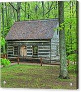 Helser Log House Acrylic Print