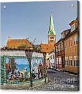 Helsingor Street Acrylic Print