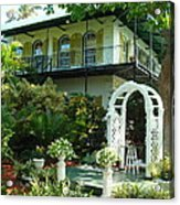 Hemingway House Acrylic Print by Kay Gilley