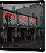 I Heard I Was In Town Acrylic Print by John Stephens