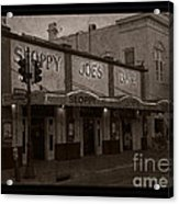 Hemingway Was Here Acrylic Print by John Stephens