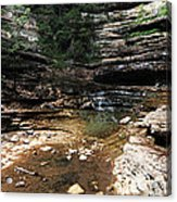 Hemmed In Hollow Acrylic Print by Maxwell Amaro