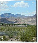 Henderson Nevada Desert Acrylic Print