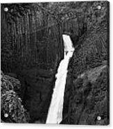 Hengifoss Waterfall Acrylic Print