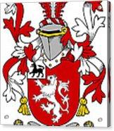 Henn Coat Of Arms Irish Acrylic Print